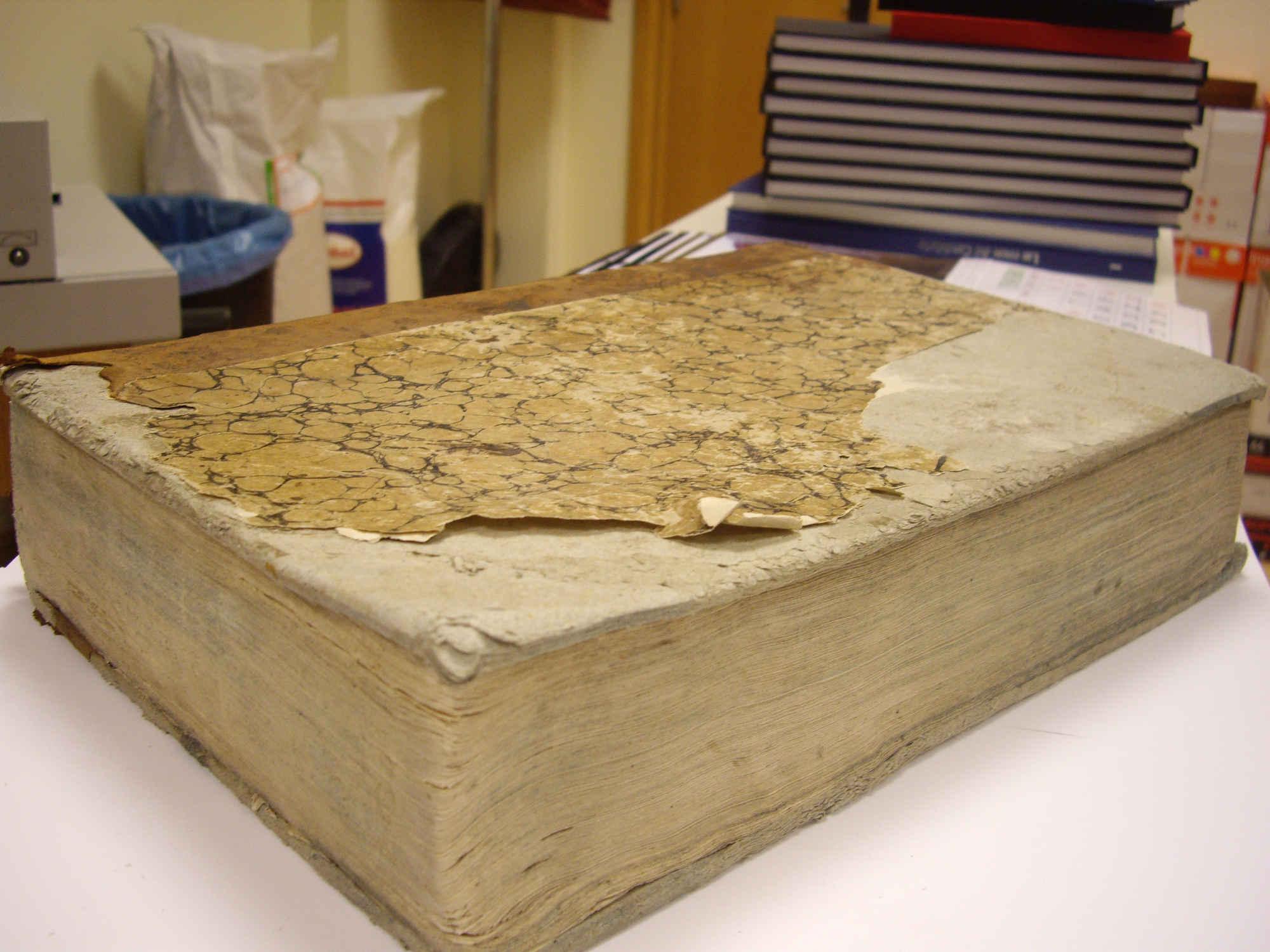 Restauración de Libros