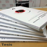 Encuadernación Tesis Doctoral Tapa Blanda